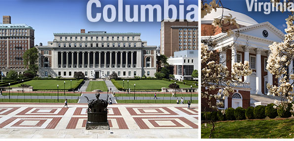 Columbia University and University of Virginia