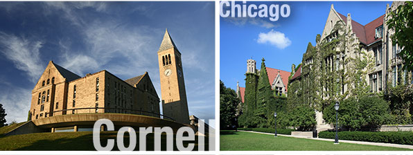 Cornell University and University of Chicago
