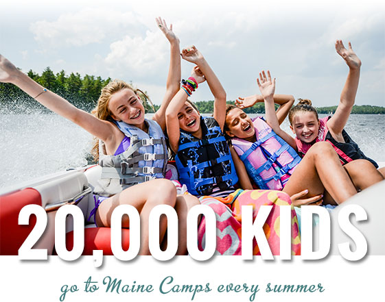 20,000 kids go to Maine Camps every summer