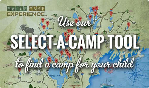 Use our Select-a-Camp tool to find a camp for your child